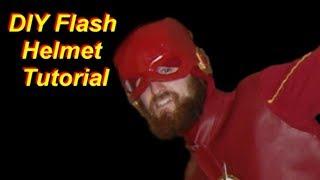 The Flash Costume Tutorial Part 3: Helmet