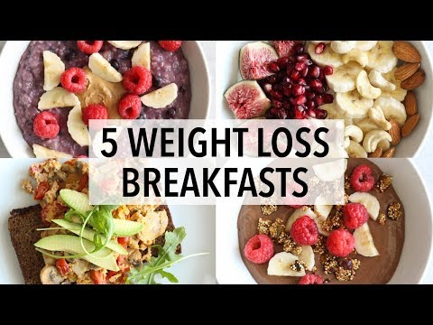 Video 5 HEALTHY BREAKFAST IDEAS FOR WEIGHT LOSS