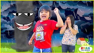 How are tornadoes formed + What is an Earthquake? | Educational Video for Kids with Ryan ToysReview