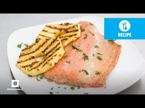 Video Healthy Grilled Salmon | Fit Men Cook