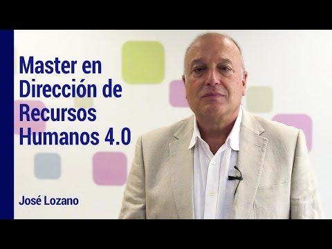 Master en Dirección de Recursos Humanos 4.0