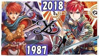 【Ysシリーズ】イース 進化の軌跡 【1987-2018】 | Evolution of Ys Game