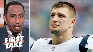 Rob Gronkowski's retirement should make Colts Super Bowl LIV favorites - Stephen A. | First Take