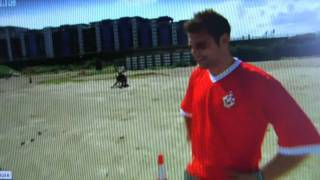 Faryl in CBBC Star Striker knockout competition Part 4 Heading 2
