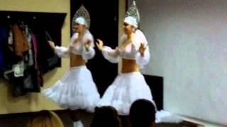 """Танец """"Восточные снегурочки"""""""