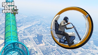 ULTIMATE MONOWHEEL!! (GTA 5 Mods MODDED VEHICLES MOD)