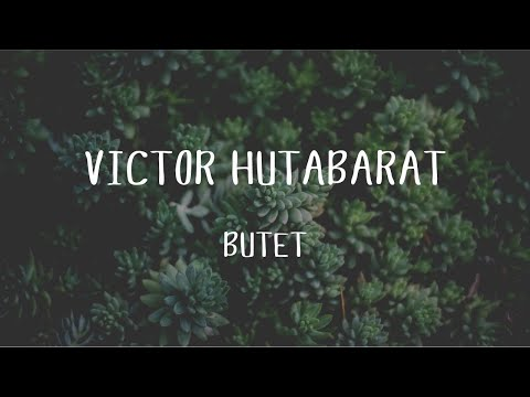 Victor Hutabarat - Butet (Official Music Video)