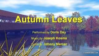 Autumn Leaves – Doris Day