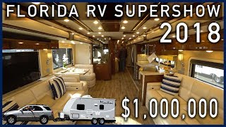 Florida RV SuperShow 2018 - Luxurious Newmar RV Diesel Pushers