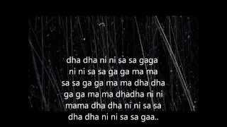 Mere dholna-Full lyric(sargam)+english translation   - YouTube