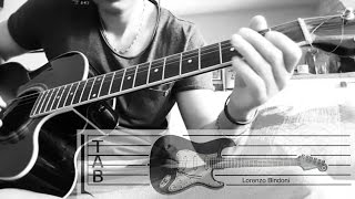 Bathory - Under the Runes (intro) Cover & lesson with Tab By Lorenzo Bindoni