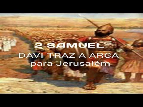 sess o desenho rei davi traz a arca para jerusal m