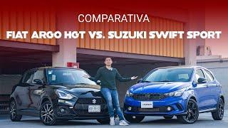 FIAT Argo HGT vs. Suzuki Swift Sport, comparativa: son como el agua y el aceite, pero a un precio idéntico