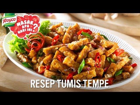 Video Resep Royco - Tumis Tempe