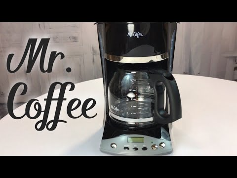 Mr. Coffee SKX23 12-Cup Programmable Black Coffeemaker