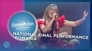 Ester Peony - On A Sunday - Romania 🇷🇴- Official Video - Eurovision 2019