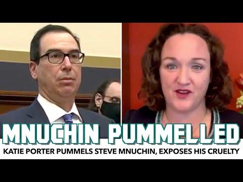 Katie Porter Pummels Steve Mnuchin, Exposing GOP Cruelty