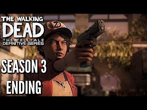 The Walking Dead: Definitive Edition SEASON 3 ENDING GAMEPLAY walkthrough (REMASTERED TWD)