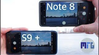Samsung Galaxy S9 Plus vs Note 8: In-Depth Camera Test Comparison