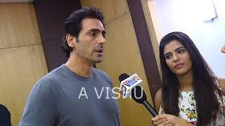Arjun Rampal, Aishwarya Rajesh, Interview Daddy Movie promotion