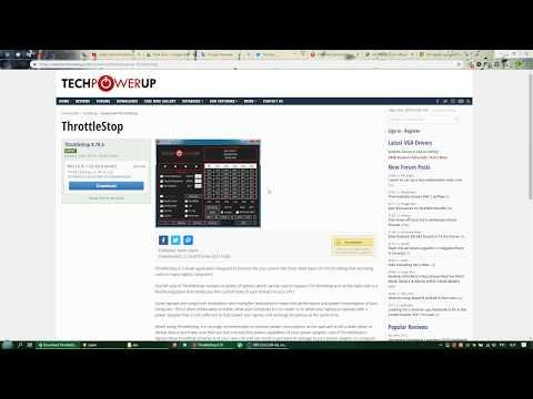 Dell G7 Throttlestop