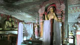 preview picture of video 'Sri Lanka: Dambulla Cave Temples (Video)'