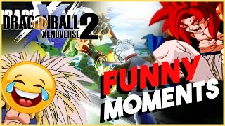 THE BEST DRAGON BALL XENOVERSE 2 FUNNY MOMENTS ON YOUTUBE ( Saiyan Edition )