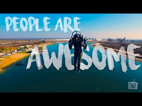 HUMANS ARE AWESOME in 4K | Edit 2017.