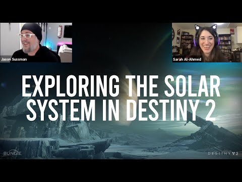 Exploring the Solar System in Destiny 2