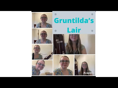 Gruntilda's Lair from Banjo Kazooie for Winds and Piano.