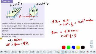 Eğitim Vadisi 11.Sınıf Fizik 22.Föy Elektrik ve Manyetizma 1 (Manyetik Akı) Konu Anlatım Videoları
