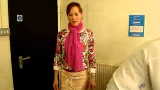"Jonatha Brooke ""Crumbs"" - backstage in Kendal, UK"