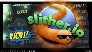Ovládl jsem server!!   Slither.io  #1