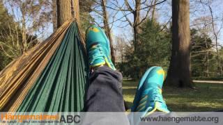 Monkey Swing Hängematte aus Fallschirmseide im Test