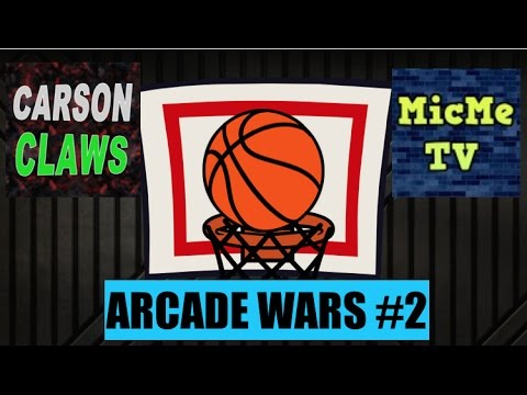 ARCADE WARS #2 || BASKETBALL CHALLENGE ft. MicMe TV