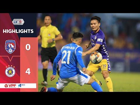 Highlights | Than Quảng Ninh - Hà Nội FC | Lỡ ngôi vương dù Quang Hải ghi siêu phẩm