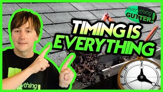 GUTTER CLEANING - Exact Time to Clean Your Gutters