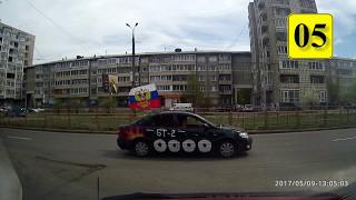 Автопробег 9 мая в Ангарске (ПОЛНАЯ ВЕРСИЯ)