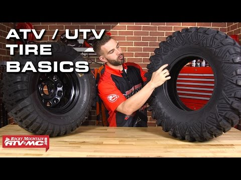 7 Basics To Know About ATV/UTV Tires!