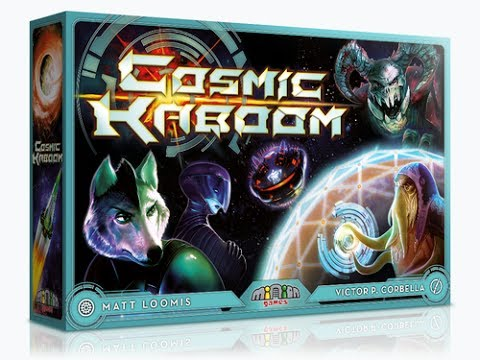 Cosmic Kaboom - A Forensic Gameology Review