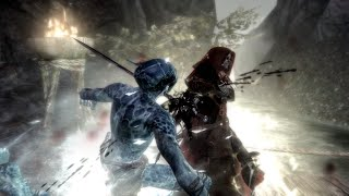 Boss fight: Skyrim meets Dark Souls with fog ninja overdose!!