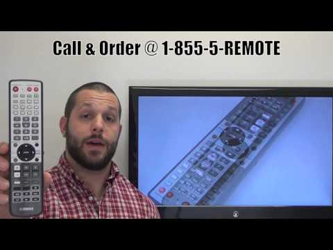 YAMAHA WJ553400 Audio/Video Receiver Remote Control