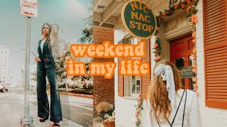 Cleaning My Room (for Fall) Montage + Grwm Senior Pictures I Weekend In My Life