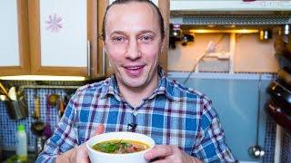 Суп: Гороховый суп из копченого сома от Василия Емельяненко