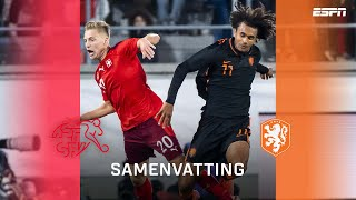 Zirkzee redt Jong Oranje in EK-kwalificatie ?   Samenvatting Jong Zwitserland - Jong Oranje