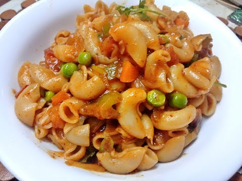 Macaroni Recipe in Tamil|Vegetable Macaroni Pasta Recipe In Tamil|Pasta Recipes|Bashas Kitchen