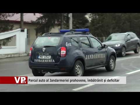 Parcul auto al Jandarmeriei prahovene, îmbătrânit și deficitar