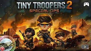 💂🏼 Игра для детей Tiny Troopers 2  🚓 мультик машинки для мальчиков геймплей и прохождение