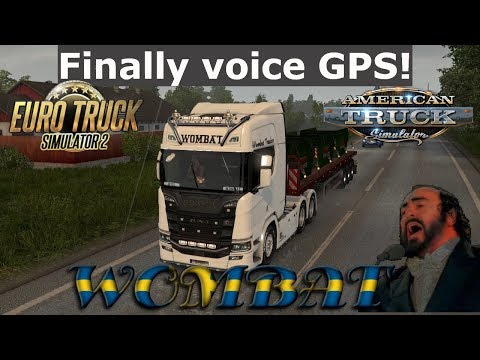 Does anyone know how to make a GPS voice mod? :: Euro Truck