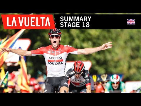 Video | Samenvatting etappe 18 Vuelta a Espana